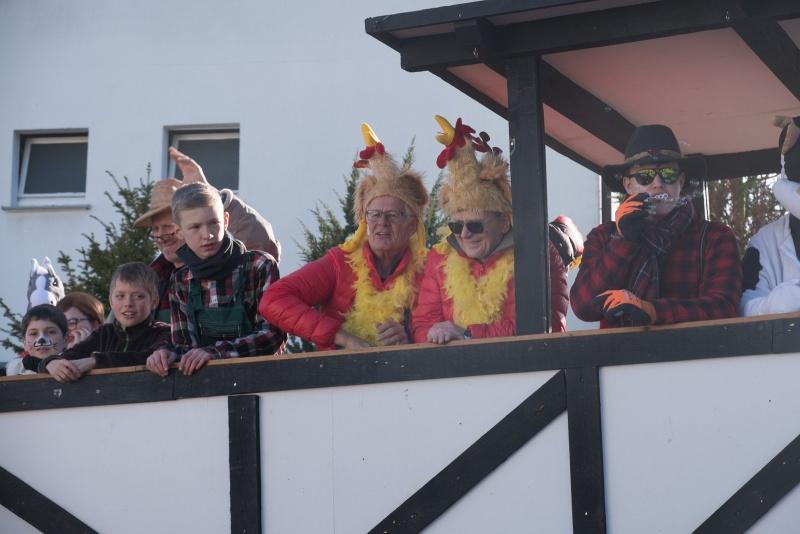 Karneval Impekoven, Zoch